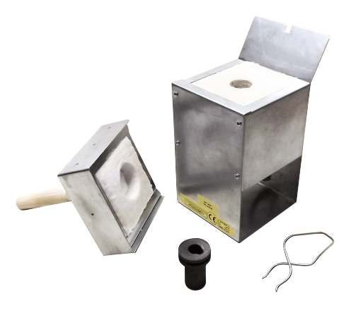 TSMP Ltd. Печь для плавки металлов (золото 217 гр.) R9-4