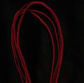 Гайтан шелковый шнур Шерри Cherry без замка 60 см