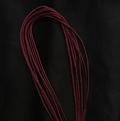 Гайтан шелковый шнур Марсала Marsala без замка 60 см