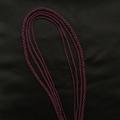 Гайтан шелковый шнур Пурпурный Purple без замка 60 см