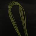Гайтан шелковый шнур Оливковый Olive без замка 60 см