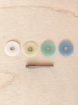 Набор для шлифовки/полировки горячей эмали, ювелирных камней