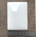 Пластина для эмалевой живописи готовая Прямоугольник 55х40 мм