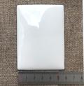 Пластина для эмалевой живописи готовая Прямоугольник 80х60 мм