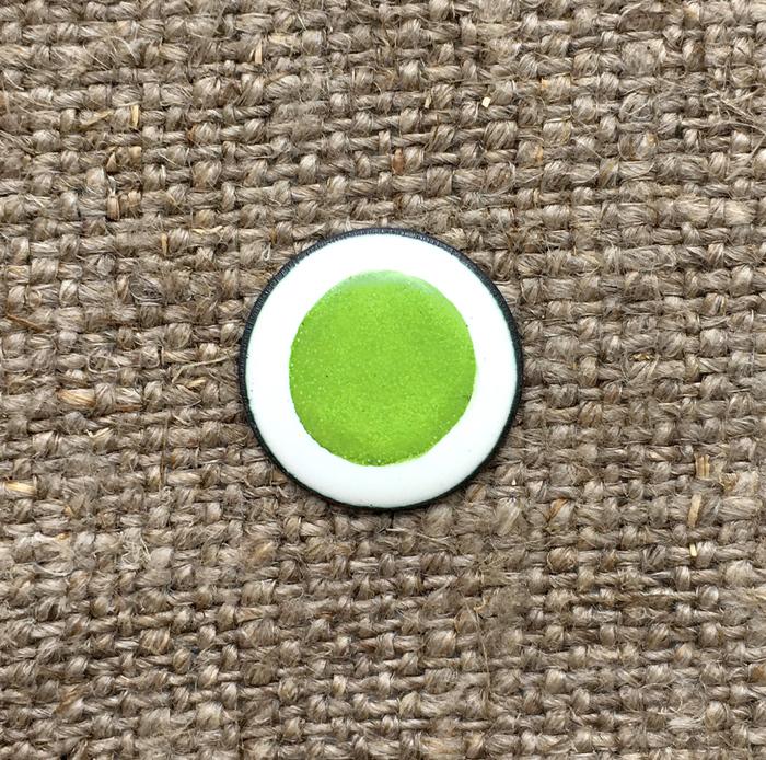 Дулево Краска надглазурная Дулево №5104 желто-зеленая