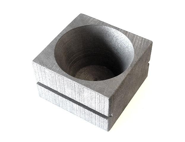 TSMP Ltd. Тигель-чашка для плавки на открытом огне квадратная 75 мм