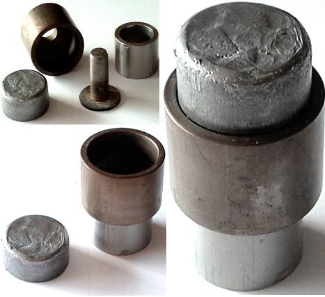 TSMP Ltd. Литейная форма металлическая 1 OZ/31 гр. чистого золота